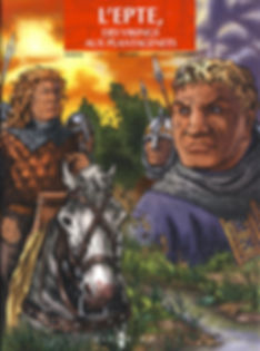 BD epte2_le face à face des rois, edition 2, couverture