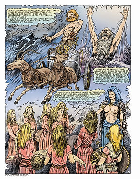 mythologie scandinave Thor et Freya