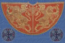 Manteau de Roger de Sicile, la Zisa