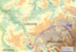Pour la BD Alésia, il a été necessaire de déterminer les voies protohistoriques
