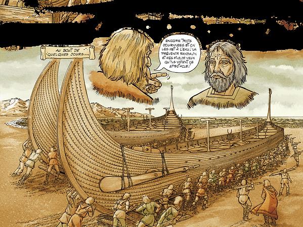 Ragnar fait construire deux énormes navires