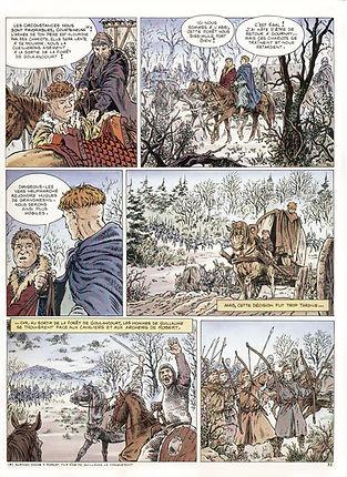 bataille d'Archenbray entre Guilaume le Conquérant et Robert Courteheuse.