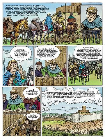 Henri Beauclerc se rend maitre de Gisors en 1108.