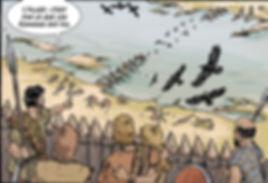 BD ALESIA, A gondole les gaulois sont entrés dans la ville fluviale