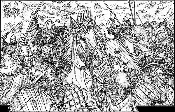 Hastings battle, bataille d'hastings