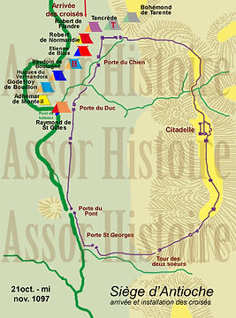 siège d'Antioche, première croisade phase1
