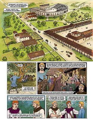 Chateaubleau à l'époque romaine