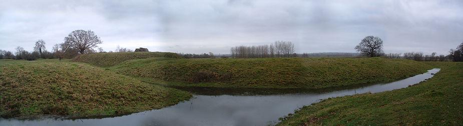 La motte castrale de Remilly en Normandie