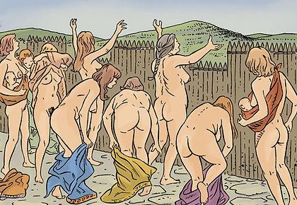 rôle des femmes gauloises lors de la bataille de Gergovie.
