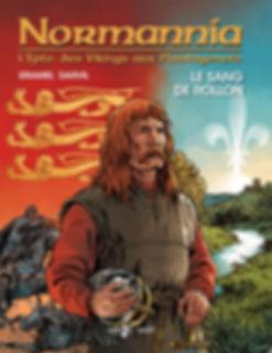 BD EPTE1_le sang de Rollon, couverture édition 2_Normannia