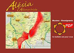Itinéraire de César entre Gergovie et Alésia, plaquette B