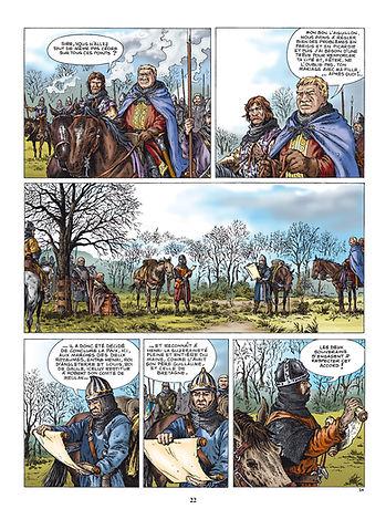 Entrevue entre Louis le Gros et Henri Beauclerc sous l'Ormeteau ferré.