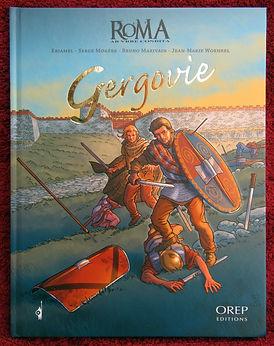 Gergovie, l'album BD