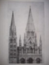 Façade_de_la_cathédrale_de_Rouen_au_XIIe