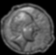 monnaie à l'effigie de Luctérios