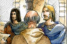 Jean sans Terre et Philippe Auguste