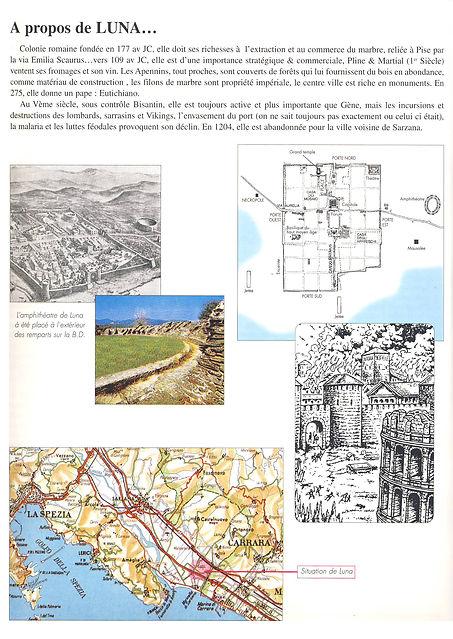 Luna (Luni en Italie), ville pillée par les Vikings