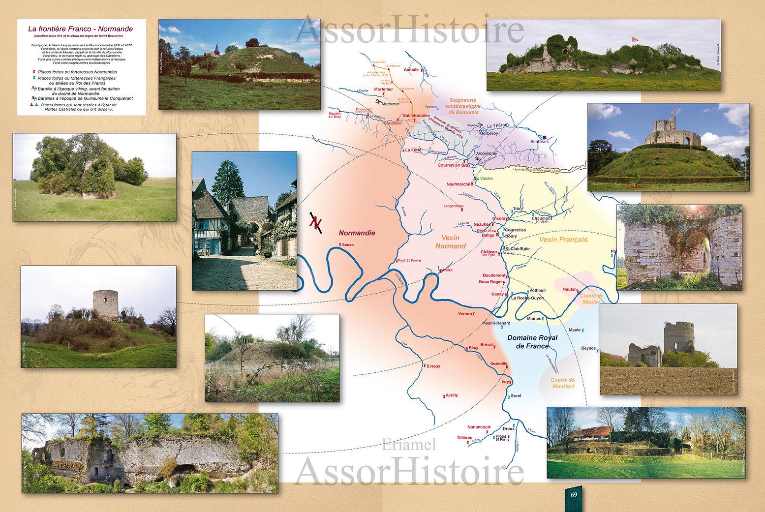 Carte du Vexin avec le rivière Epte et les fortifications médiévales.secu.jpg