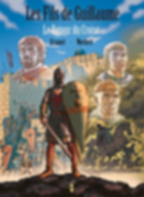 BD les fils de Guillaume, le retour du croisé.