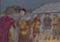 gergovie bd, César et son légat Fabiuspg