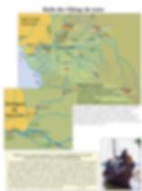 carte des raids vikings sur la Loire
