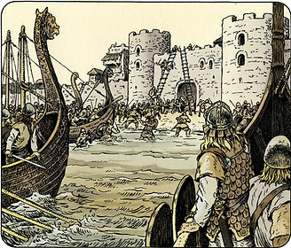 Les vikings à Nantes