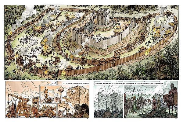 Chateau médiéval de Montfort sur Risle