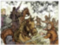 Louis le Gros manque d'être capturé et dois fuir lors de la bataille de Brémule.
