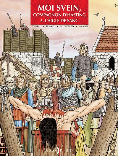 BD Moi Svein tome 5_L'Aigle de sang,couverture