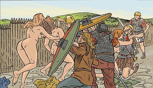 Mort du centurion Fabius pendant la bataille de Gergovietext_68RET-b.jpg