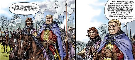 Louis VI le Gros près de l'ormeteau ferré.