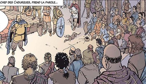 Alésia BD, Luctérios à Corent