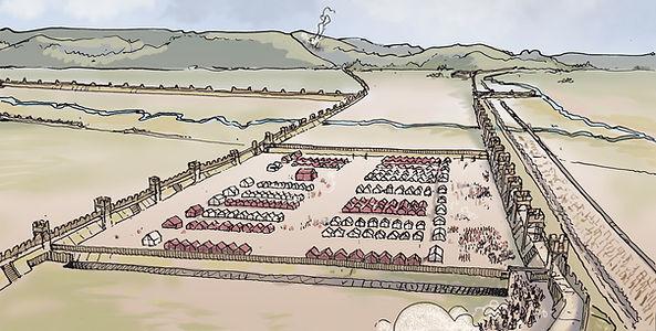 ALESIA_fortifications romaine plaine de Grésigny.