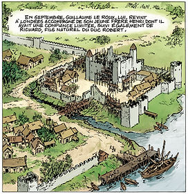 Tour de Londres1099, Tower of London in 1099