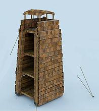 Tour de siège romaine