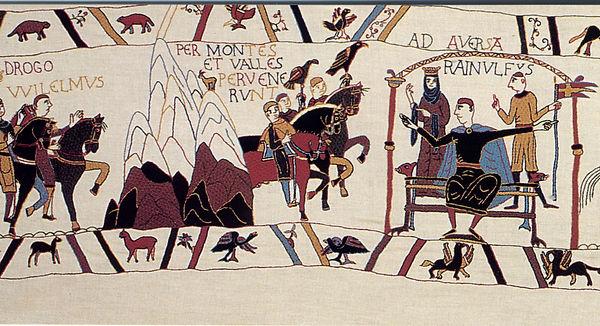 la tapisserie de Pirou, Drengot comte d'Aversa