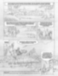 BD Alésia_planche 1 Crayonné et texte