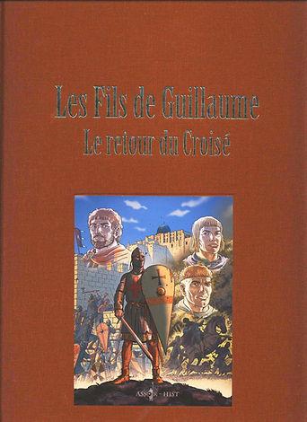 BD les fils de Guillaume, tome 2, couverture toilée.