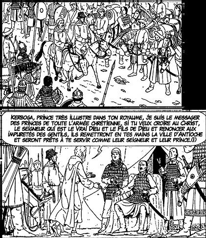 Première croisade : Pierre l'hermite et Kerbogha