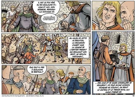Prise du royaume d'Angleterre par Henri Beauclerc au mois d'Août 1100