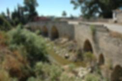 Le Pont de Fer sur l'Oronte, lieu de resistance des Turc lors de la première croisade.