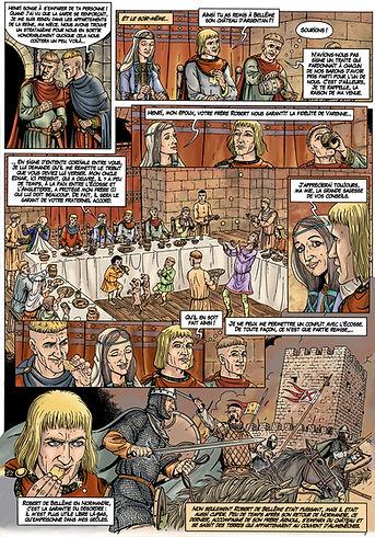 Edgar Ætheling déjoue les plans de Henri Beauclerc lors de la visite de Robert Courteheuse en Angleterre.