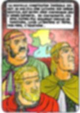 premier partage de l'empire carolingien
