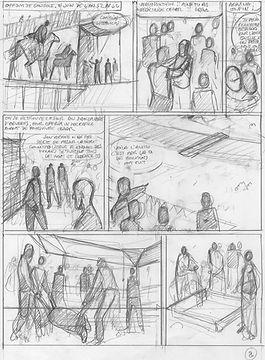 BD Alésia_planche 2_storyboard rush