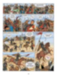 Robert Courteheuse lors de la bataille de Dorylée