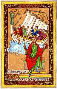 Henri Beauclerc et la blanche nef enluminure