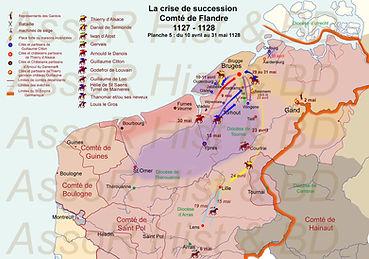 la Flandre en avril - mai1128