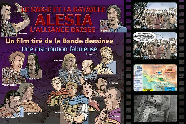 Bataille d'Alésia la vidéo