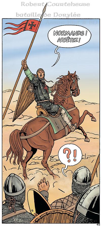 Robert Curthose at Dorylaeum battle.