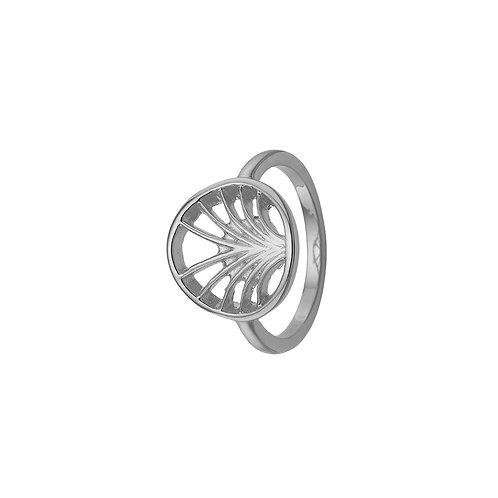 Kranz & Ziegler, Ring med palme motiv i sterlingsølv (925)